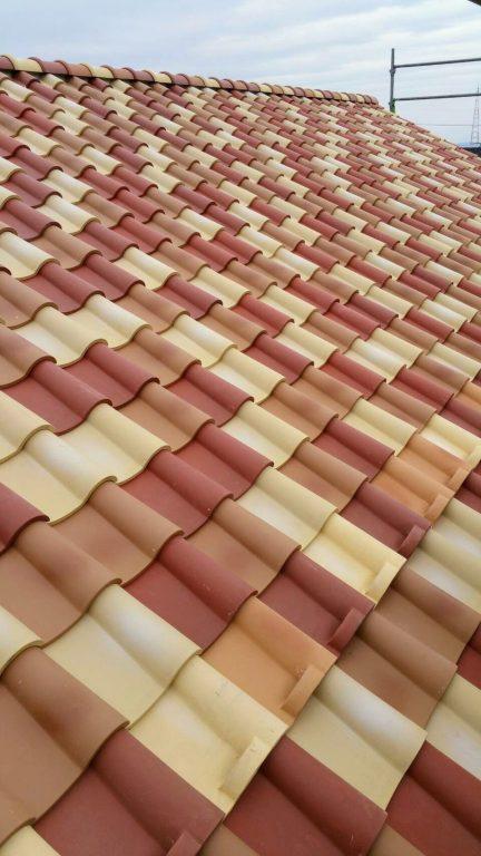 洋瓦の屋根 いい感じです♪イメージ