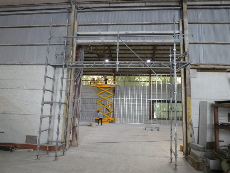 日光市内工場 倉庫改修工事イメージ