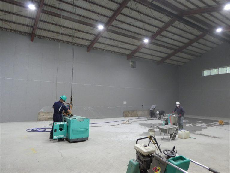 日光市内倉庫改修工事の進捗です。イメージ